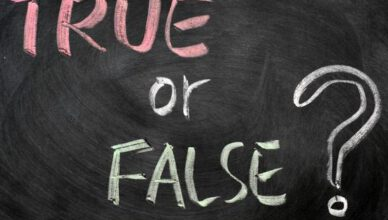 true or false questions